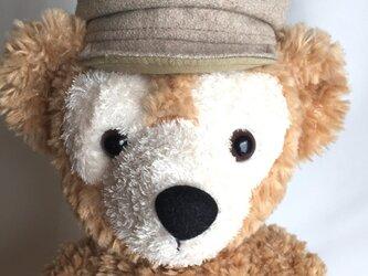 ダッフィー帽子 キャスケット(ウールフラノ)の画像