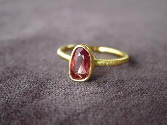 K18 Sapphire  Ringの画像