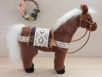 ぬいぐるみ 馬の画像
