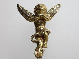 K18エンジェル(天使)のペンダントトップの画像