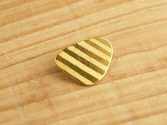 真鍮ブローチ sankaku shuima B002の画像