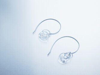 Double round chain Earring / SV 925の画像