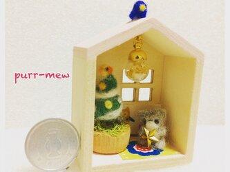 SALE! クリスマスツリーのおうち  ミニチュアの画像