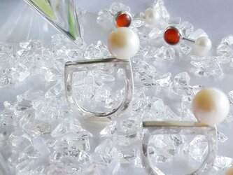 Pearl Ring for Pinkeyの画像