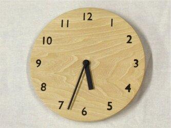 掛時計 001の画像