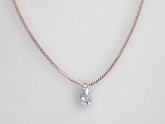 0.43ctsVS 大人のためのプチ・ダイヤモンドのネックレス(K18ピンクゴールド)の画像