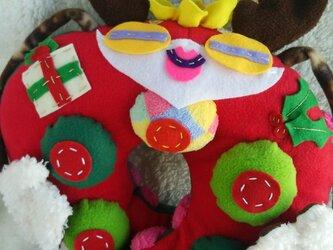【受注製作】12月のくびまくら 『サントナ おっぱいまん 』の画像