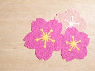 [再販]センターピース 桜の画像