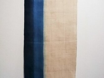 再販・藍染タペストリーの画像