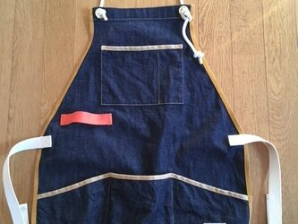 Work Apron denimの画像