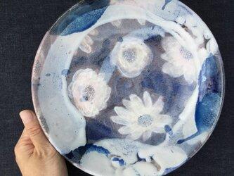 山茶花の大鉢    23cmの画像