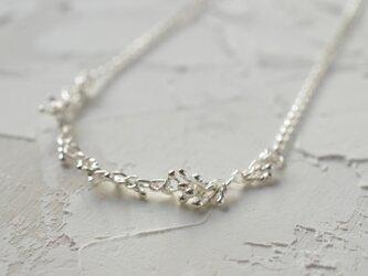 「かならず」純銀のネックレスの画像