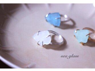 seaglass ring(w)の画像