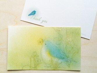 青い鳥サンキューカード10枚入の画像