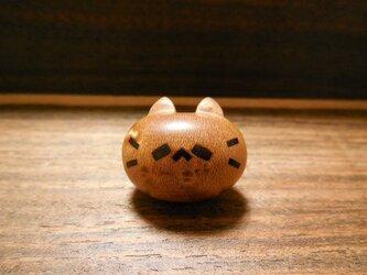 バーズアイメイプルのピンズ ネコノカミの画像