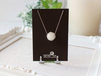 [silver999] クロッシェ(大)ネックレスの画像