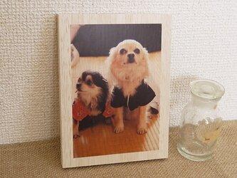 木製アートフォトパネル 004の画像