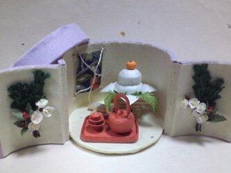 鏡餅とお屠蘇の画像