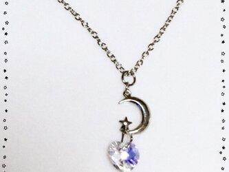 月の物語プリンセスネックレスの画像