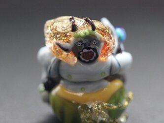 とんぼ玉 雷神の画像