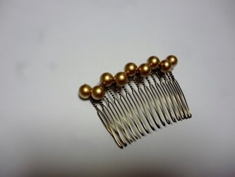 ゴールドヘアコームの画像