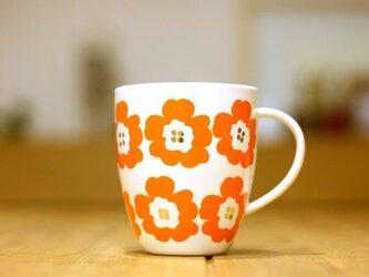Hanaco(オレンジ)/ マグカップの画像