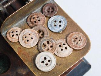 ヴィンテージ・メタルボタン +*北欧アンティーク雑貨 & アルケミストの画像