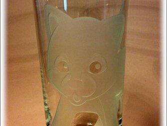 柴犬グラスの画像