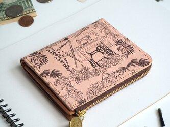 L字ファスナー 財布(アトリエ)オールレザー 革  メンズ レディース ILL-1157の画像