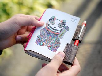 ●受注制作● Apsuコラボ手帳2018【まねき猫】の画像