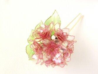 八重桜簪:花霞ーhanagasumiーの画像