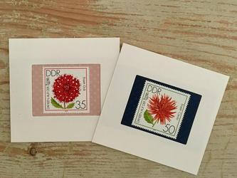 ちいさなartmuseum  germany stamp 2setの画像