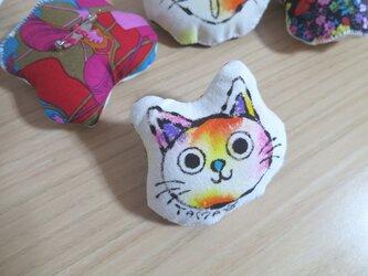 ネコのブローチ (Sサイズ 05)の画像