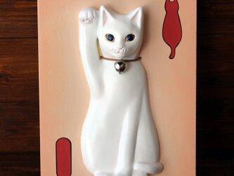 壁掛け招き猫のお手製髭入れキット 13.CATS.WORKS×YO-COの画像