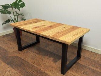 【yohey様オーダー品】杉の無垢材を使ったローテーブル 横目 クリアー塗装の画像