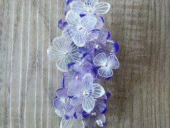 お花のピンブローチ×クリップ(2way)の画像