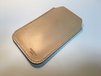 (受注製作) 手縫い / 革製 / iphone6/6s / スリーブケースの画像