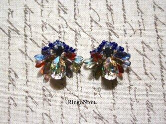 Butterfly Bijou ピアス(Plum)の画像