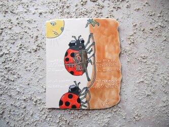 タイルの動物図鑑 テントウムシの画像