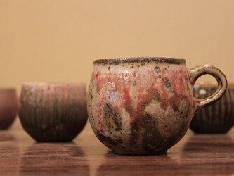 No.nhy-02 野灰粉引窯変コーヒーカップの画像
