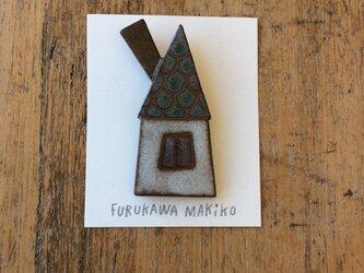 煙突の家ブローチ(№321)の画像