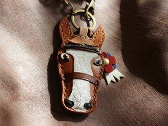 【オーダー】愛馬のバッグチャーム 各色の画像