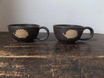 どうぶつのスープカップ(はりねずみ)の画像