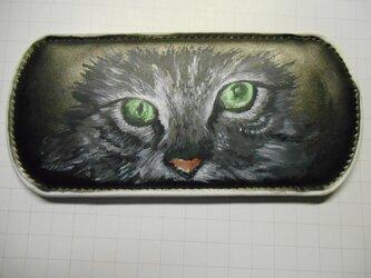アートメガネケース(ネコ)の画像