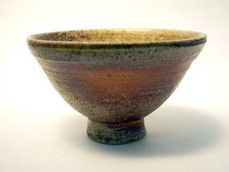 から松焼 自然釉 飯碗 1の画像