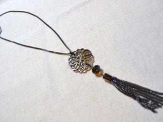 再販♩モザイクシェル ネックレスの画像