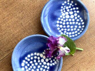 紫陽花のまめ皿 の画像