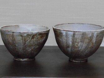 白化粧線紋茶碗の画像