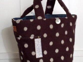 マルシェ型wool bagの画像