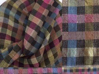 ※手織り/極々細ウールストール56×180㎝の画像